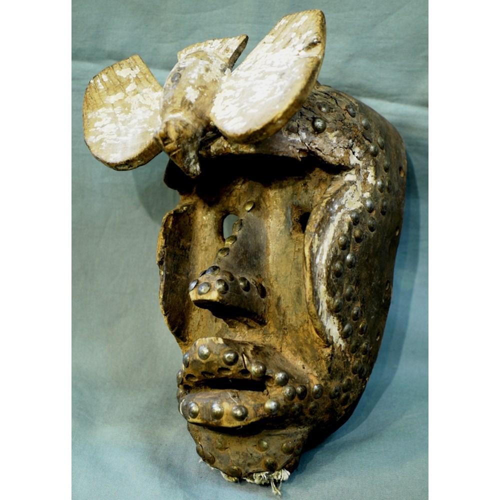 Antica maschera africana 'Bete'