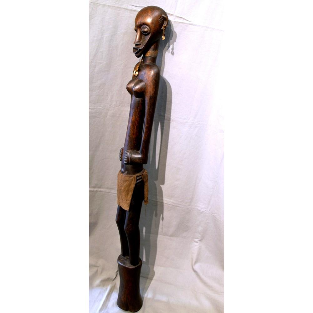 Figura femminile Senoufo 'Deble' costa d'avorio